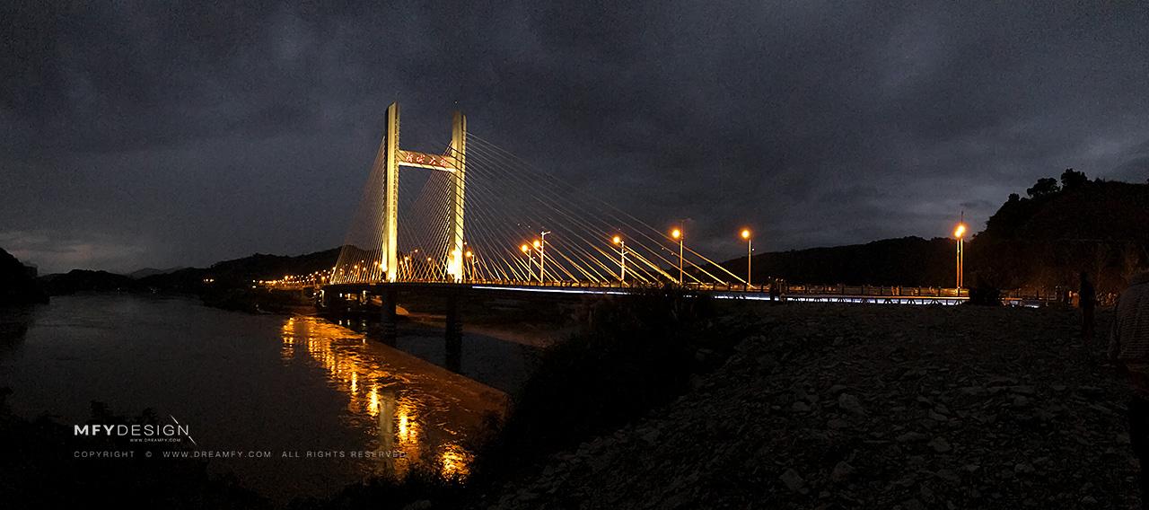 冷水江市新城大桥正式通车