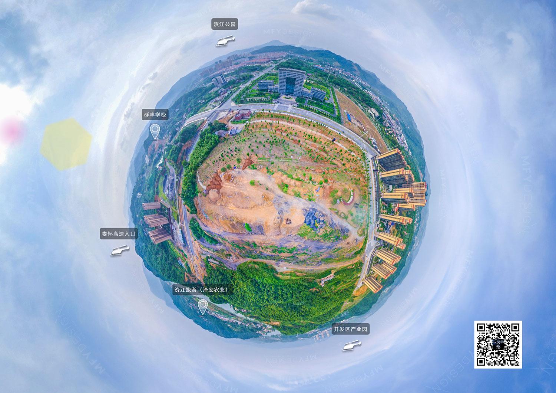 VR全景摄影,人民公园