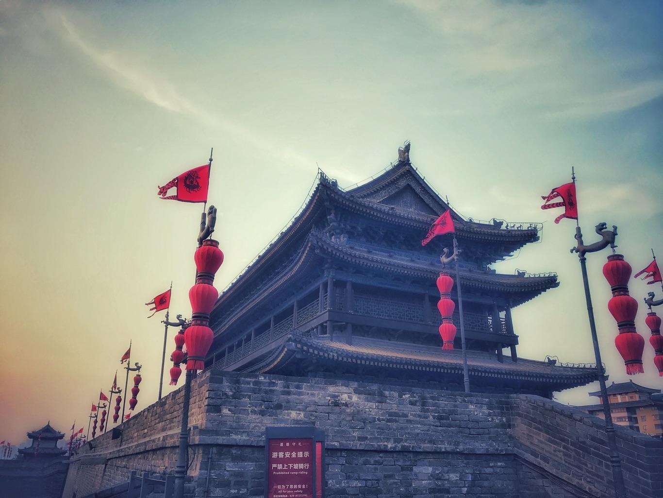 梦回长安:明城墙
