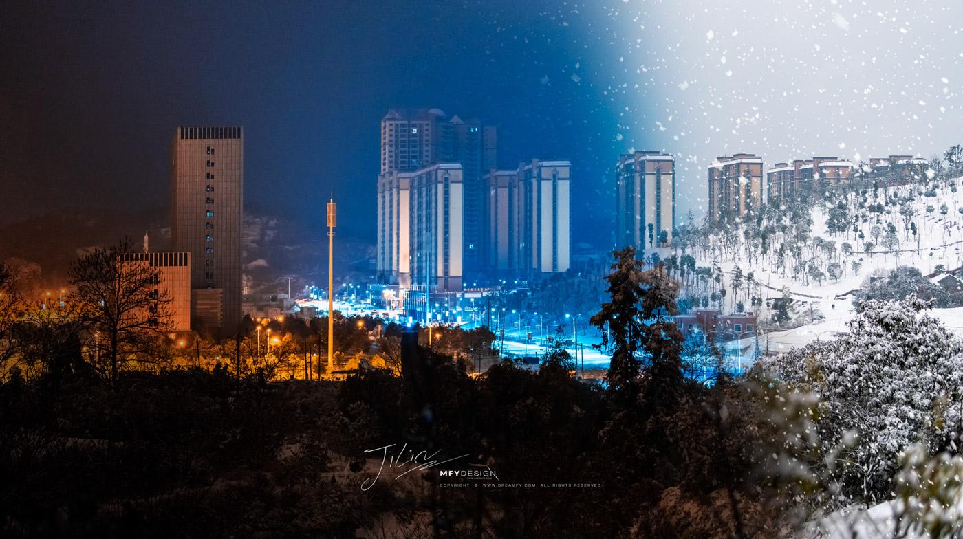 冰雪城市冷水江
